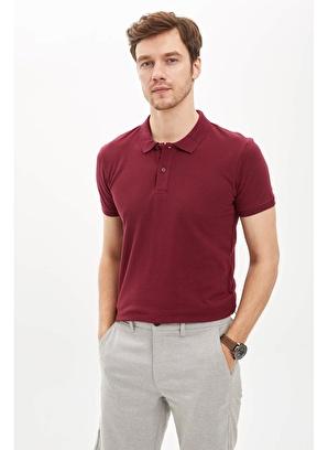 DeFacto Polo Yaka Regular Fit Basic Pike Tişört